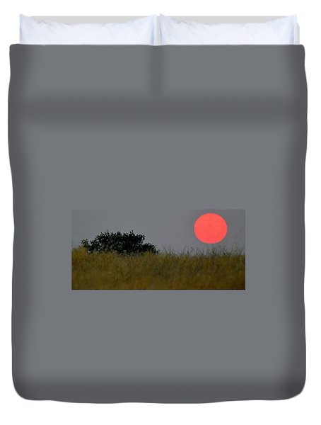 Smokey Sunset Duvet Cover