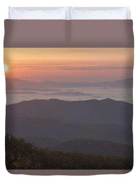 Smokey Sunset Duvet Cover
