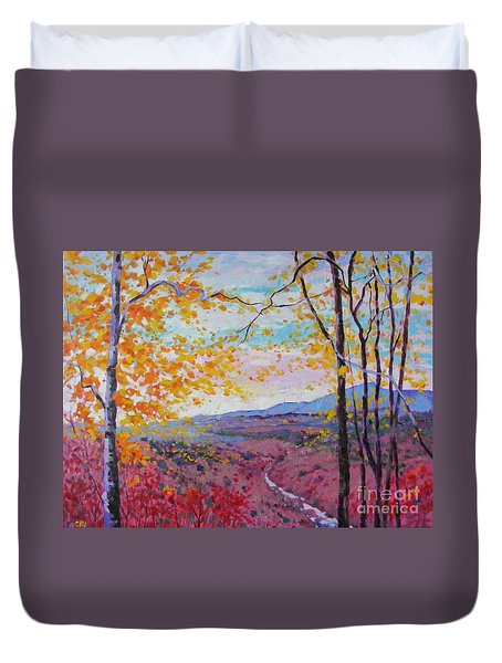 Smokey View Morning Duvet Cover