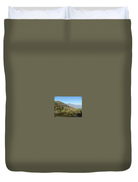 Smokies 11 Duvet Cover