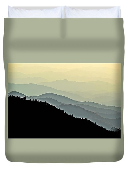 Smokies Duvet Cover