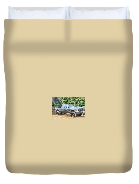 Smokin' Guns Duvet Cover