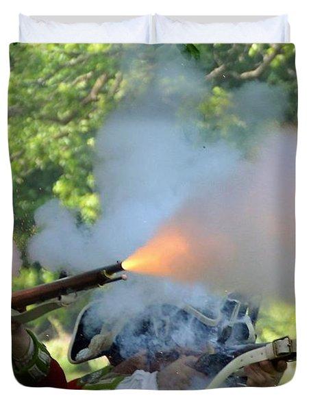 Smoking Guns Duvet Cover