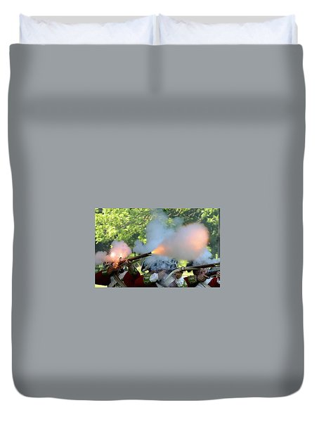 Smoking Guns Duvet Cover