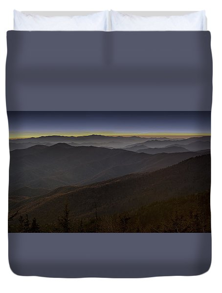 Smoky Duvet Cover
