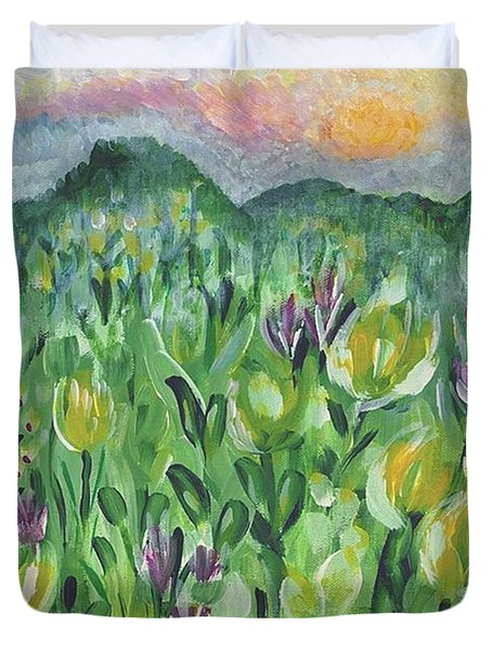 Smoky Mountain Dreamin Duvet Cover