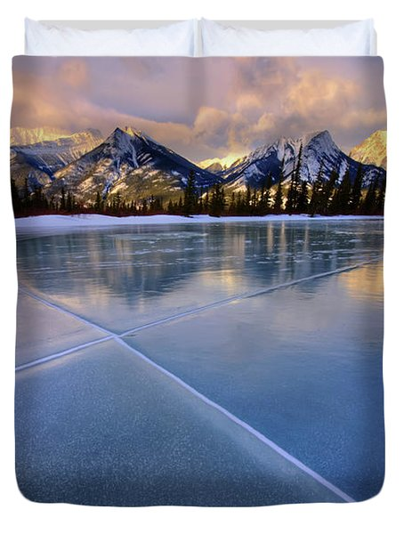 Smooth Ice Duvet Cover