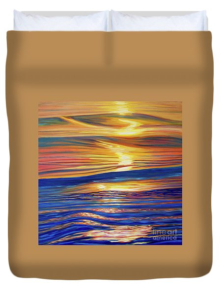 Smooth Jazz Duvet Cover