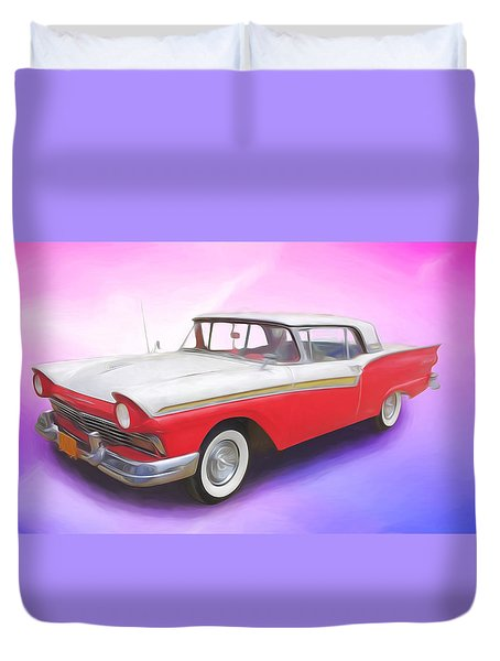 Smooth Rider Duvet Cover