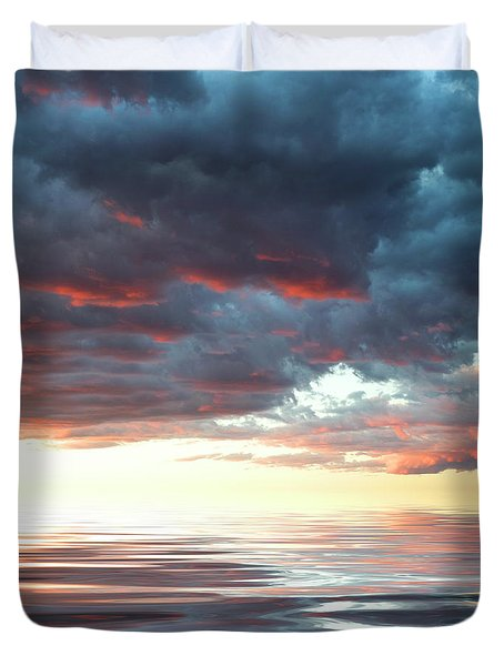 Smooth Sailing Duvet Cover by Jerry McElroy