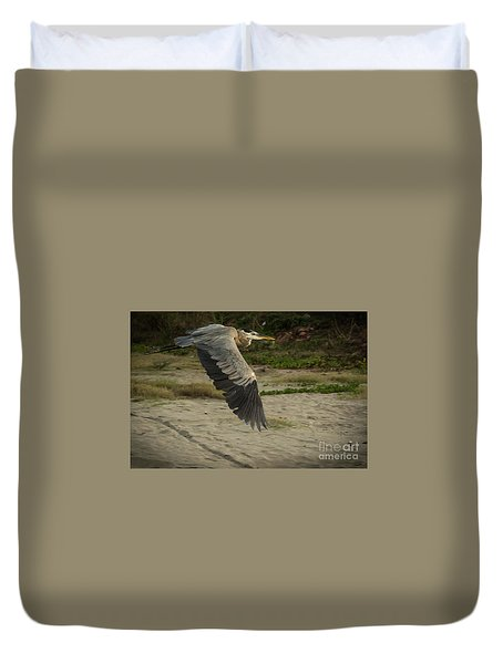 Smooth Sailing Wildlife Art By Kaylyn Franks Duvet Cover