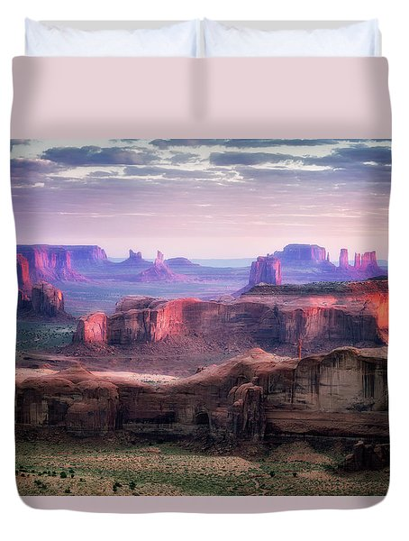 Smooth Sunset Duvet Cover