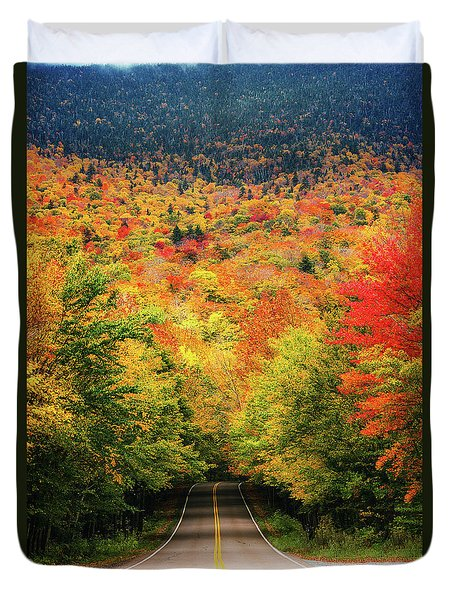 Smuggler's Notch Duvet Cover
