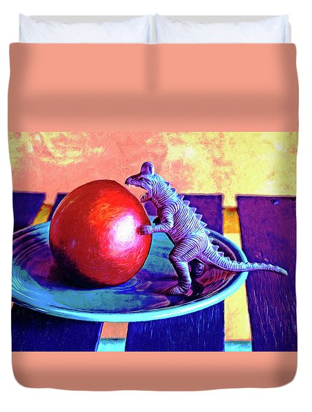Snack Attack Duvet Cover
