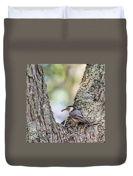 Snack Time Duvet Cover