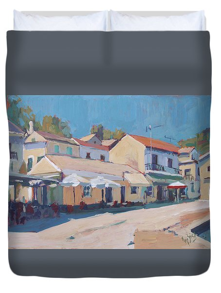 Snackbar Europe Loggos Duvet Cover