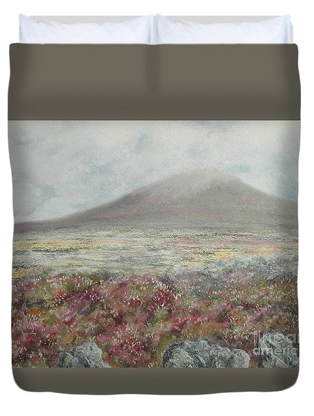 Snaefell Heather Duvet Cover by Stanza Widen