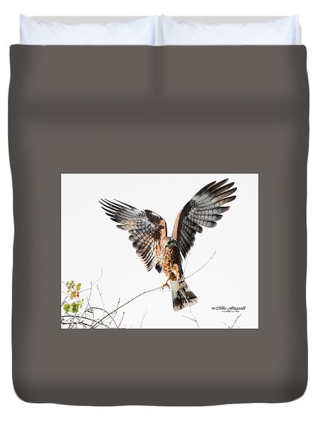 Snail Kite Exposed Duvet Cover