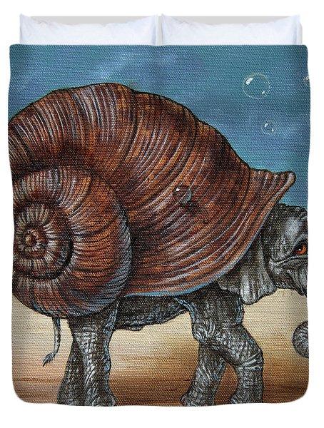 Snailephant Duvet Cover