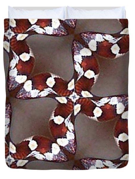 Snake I Duvet Cover by Maria Watt