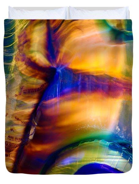 Snakeskin Goddess Duvet Cover