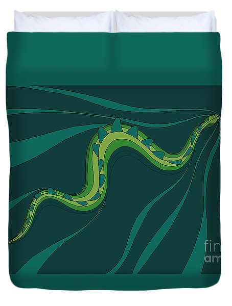 snakEVOLUTION I Duvet Cover