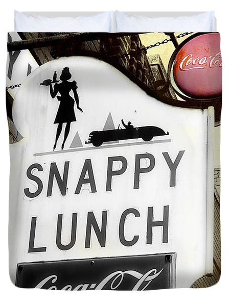 Snappy Lunch Duvet Cover
