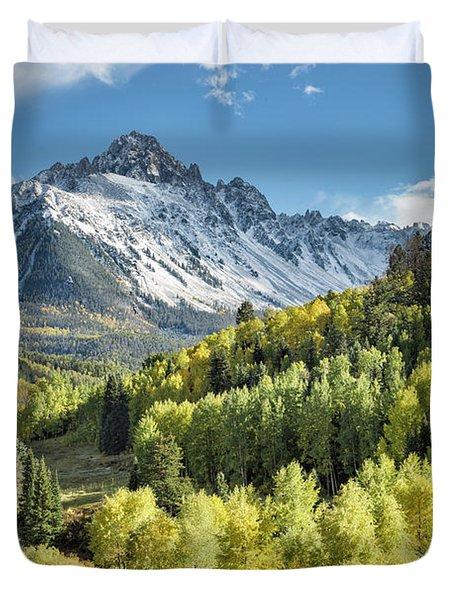 Sneffels In September Duvet Cover