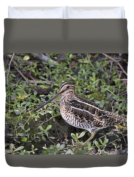 Snipe Hunt Duvet Cover