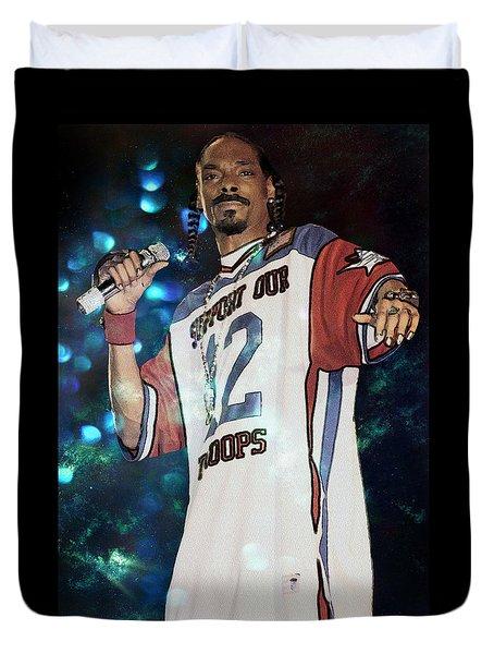 Snoop Dogg Duvet Cover by Ericamaxine Price