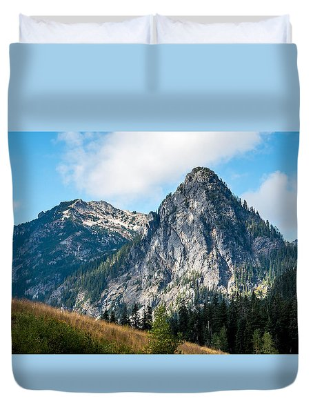 Snoqualmie Mountain Duvet Cover