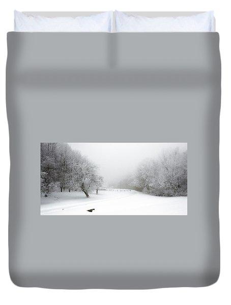 Snow Bound 2014 Duvet Cover