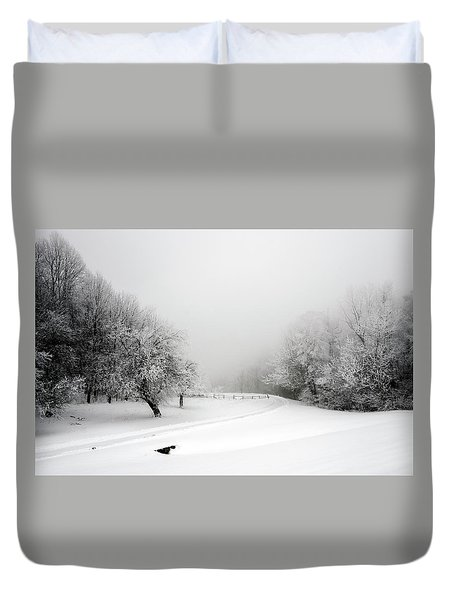 Snow Bound Duvet Cover
