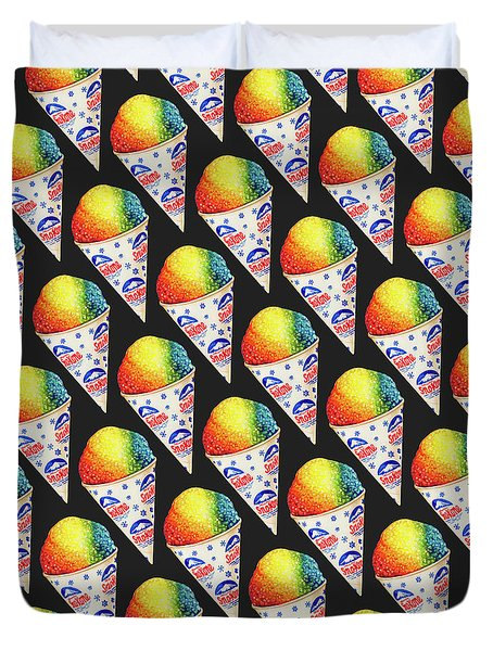 Snow Cone Pattern Duvet Cover