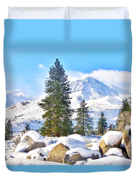 Snow Cool Duvet Cover
