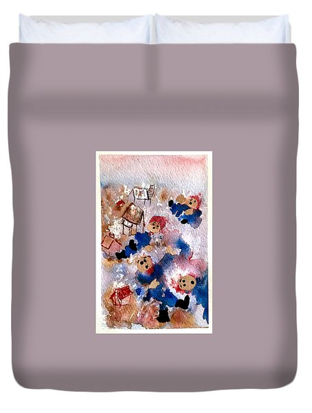 Snow Day Duvet Cover by Dana Patterson