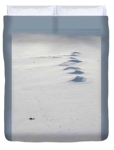 Snow Drifts Duvet Cover