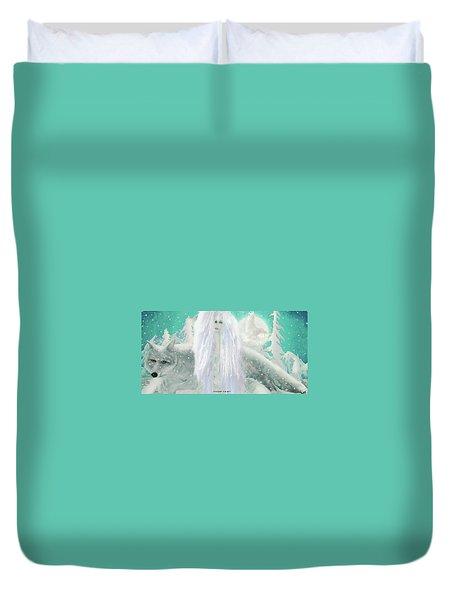 Snow Fairy Duvet Cover