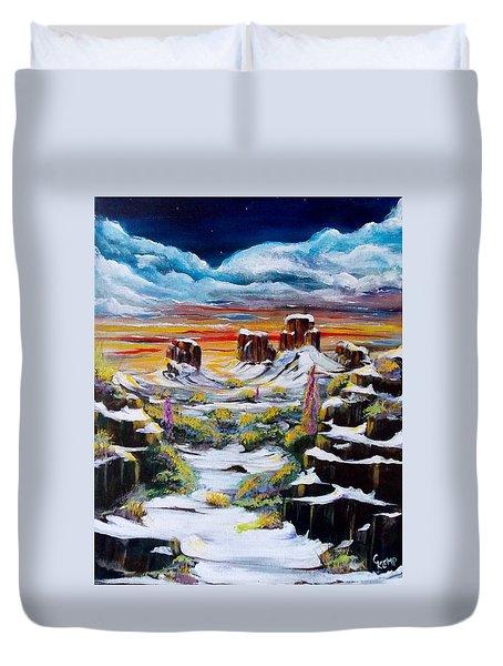 Snow Fine Duvet Cover