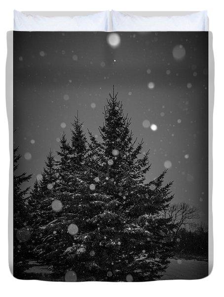 Snow Flakes Duvet Cover