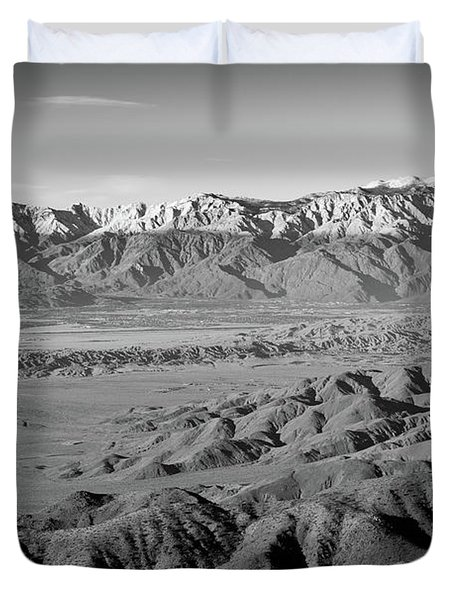 Snow Line Duvet Cover