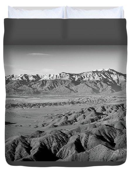 Snow Line Duvet Cover
