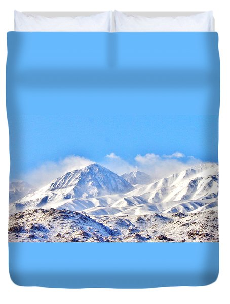Snow Duvet Cover