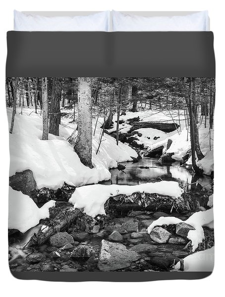 Snow Melt II Duvet Cover