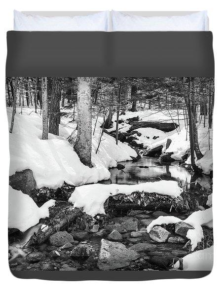 Snow Melt II Duvet Cover