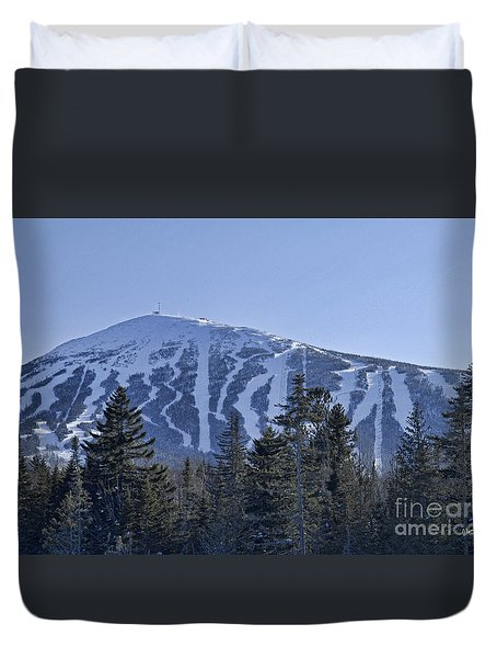 Snow On The Loaf Duvet Cover by Alana Ranney
