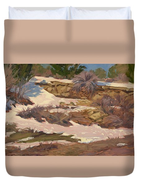 Snow Patch Duvet Cover