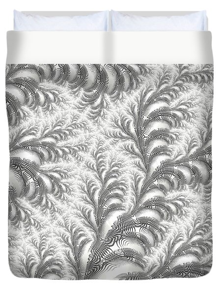 Snow Vines Duvet Cover