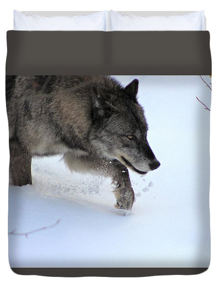 Snow Walker Duvet Cover
