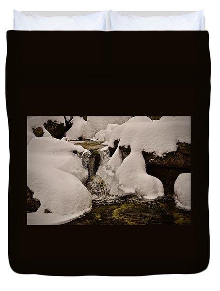 Snowcone Stream Duvet Cover